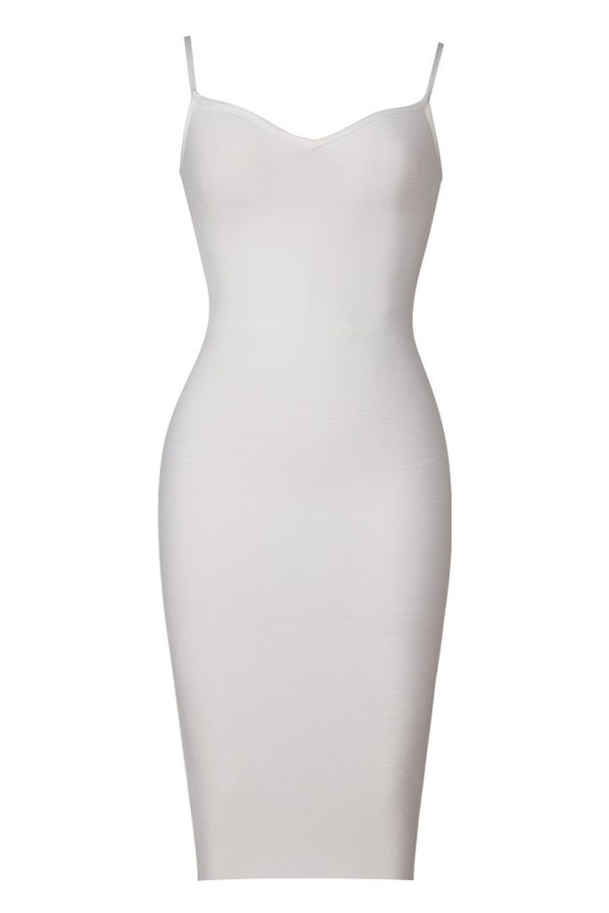 Thoughts Blowing Technique On Bandage Dress